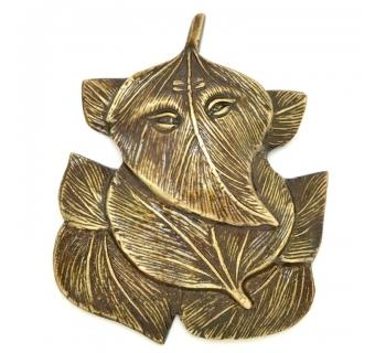 Leaf Lord Ganesh Wall Hanging Unique For Decor