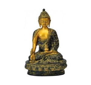 Lord Buddha Statue with rare antique finish unique for gift