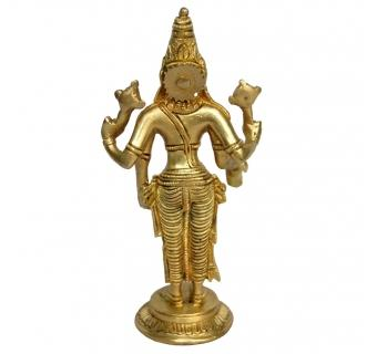 Lord Vishnu Statue Made of solid metal