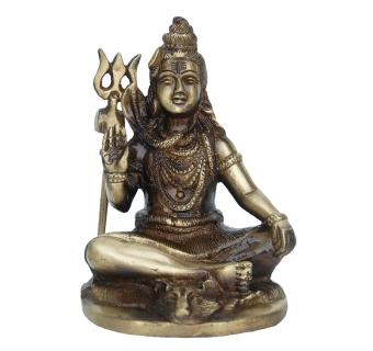 Mahadev Statue of Brass