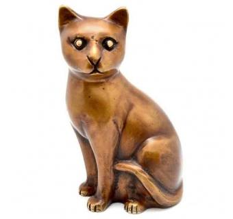 Meow Animal Sculpture of Brass