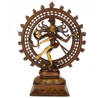 Metal Made Antique Natraj Statue in Antique Finish