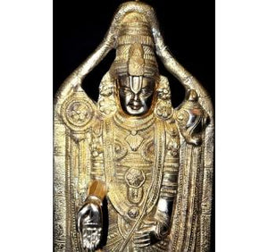 Metal Statue of Lord Venkateshwara-The Lord who destroys the sins of the people