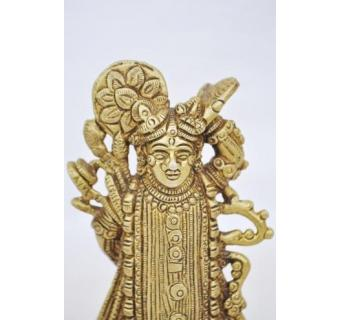 Miscellaneous adorable handmade lord Balaji brass metal statue