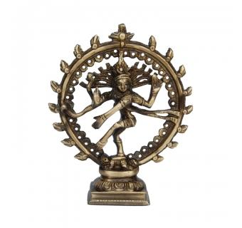 Natraj (Lord Shiva) Brass made Religious Purpose Statue