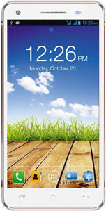 Micromax Canvas 4 Plus A315 (White and Gold, 16 GB