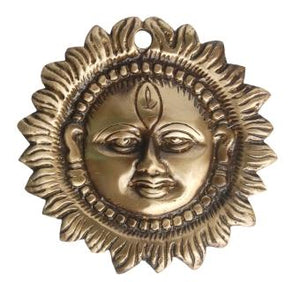Smiling Surya Wall Hanging