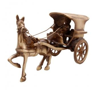 Stylish Horse cart decorative item for home decoration