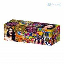 Supreme Rang Mela - 80 shots cake with Multicolor stars, balls & flash