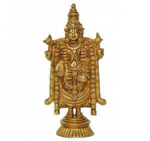 Tirupati Bala Ji Brass Statue in Antique Finish