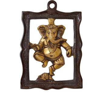 Two tone Ganesh Decorative hanging Statue