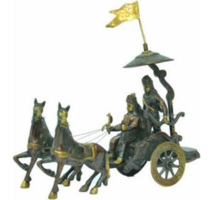 Arjun Rath Made of Brass Metal