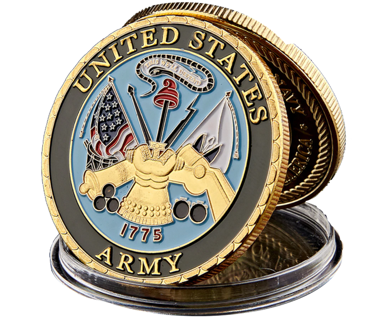 US Army Dept of Navy Coin