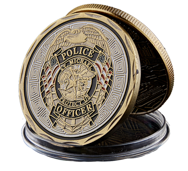 Patron Saint of Law Enforcement Coin