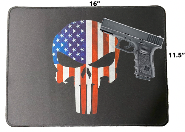 2nd Amendment Gun Mat