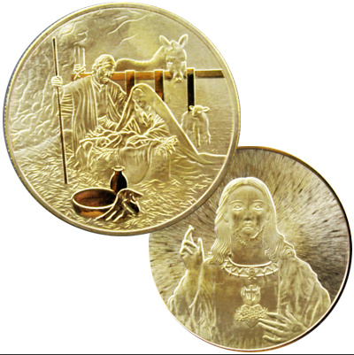 Jesus Gold Coin