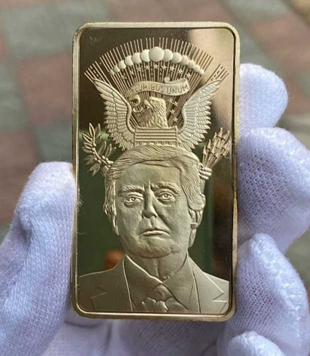 Free Trump Gold Bar V2