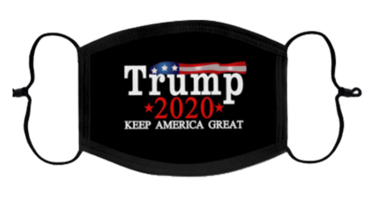 Trump 2020 Face Covering