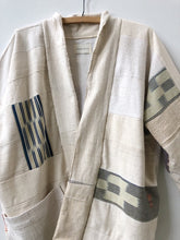 ivory patchwork jacket