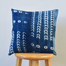 Shibori Indigo Pillow XII