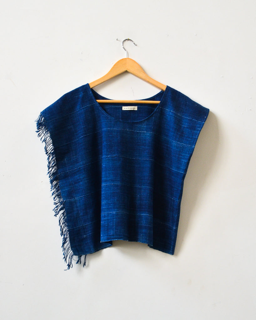 Midnight Tassel Top III