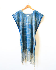 Indigo Tassel Dress I