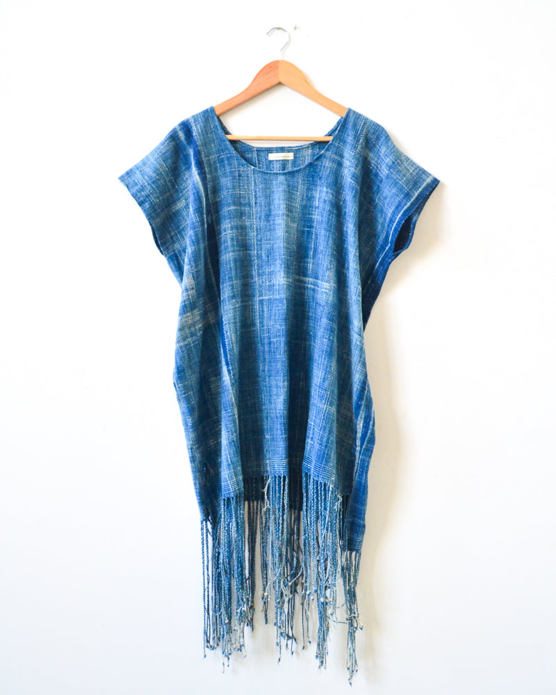 Indigo Tassel Dress II