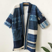 pisces patchwork coat