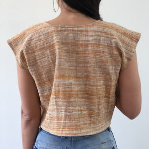 Khadi tara top in yarrow