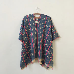 hillier ikat poncho