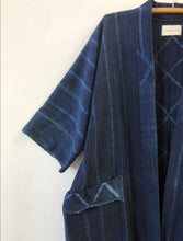 Extra Large Midnight Diamond Indigo Duster