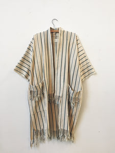 ivory striped coat II