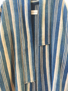 indigo striped jacket I
