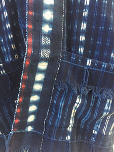 laugarvatn plaid shibori jacket
