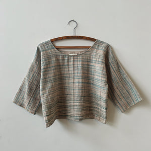 Maya Top in Eucalyptus