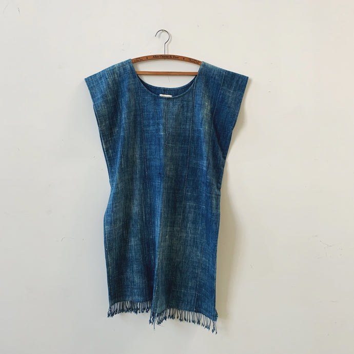 torrens indigo tassel dress