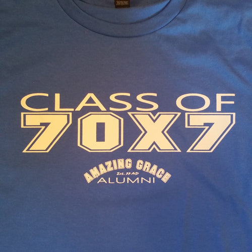 Class of 70X7 Christian Tee Shirt
