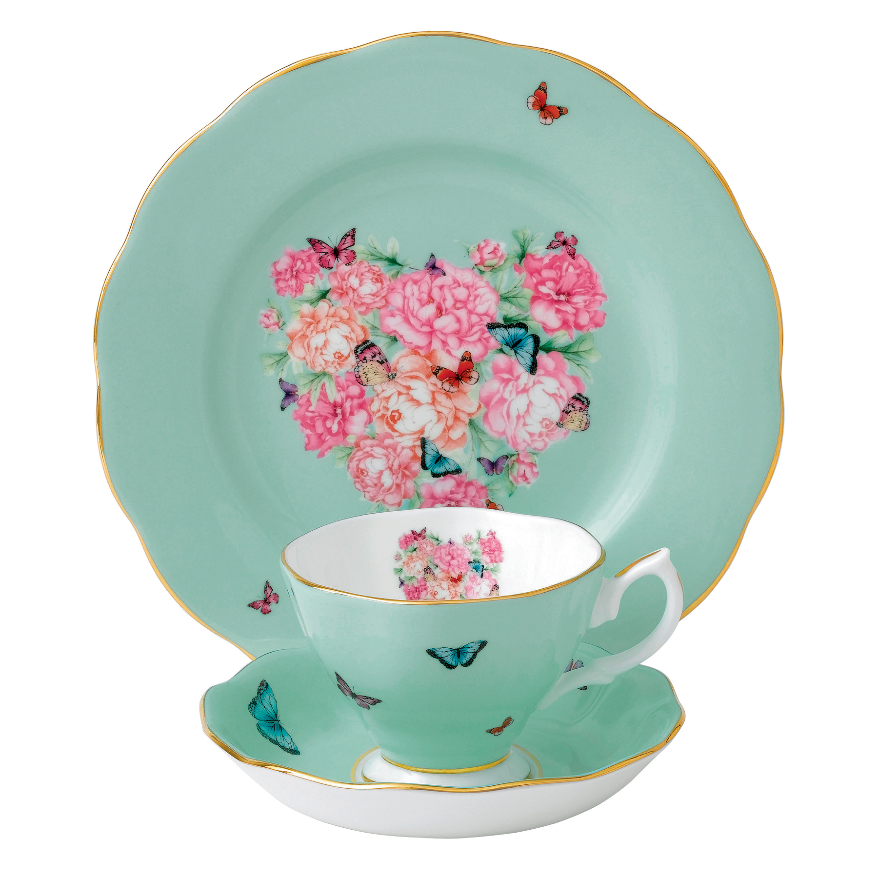 Miranda Kerr for Royal Albert Blessings Teacup, Saucer and Plate