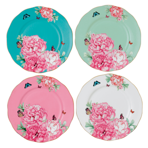Miranda Kerr for Royal Albert Set of 4 Plates 20 cm