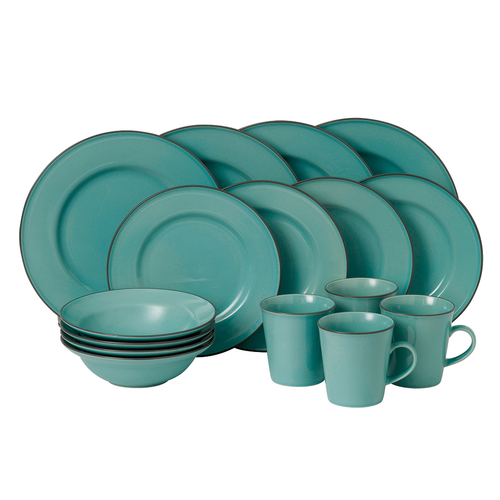 Gordon Ramsay Union Street Cafe Blue 16 Piece Set