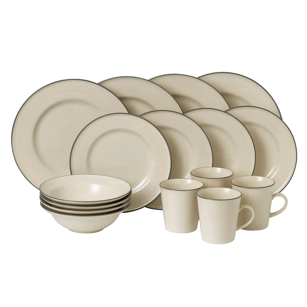 Gordon Ramsay Union Street Cafe Cream 16 Piece Set