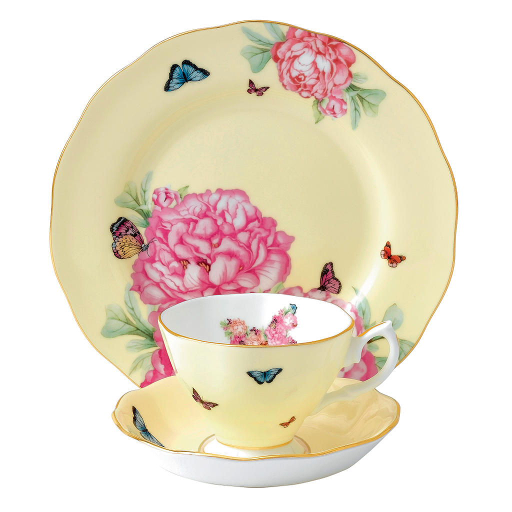 Miranda Kerr for Royal Albert Joy Teacup, Saucer, Plate