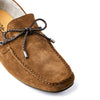 Mens suede boat shoe loafers