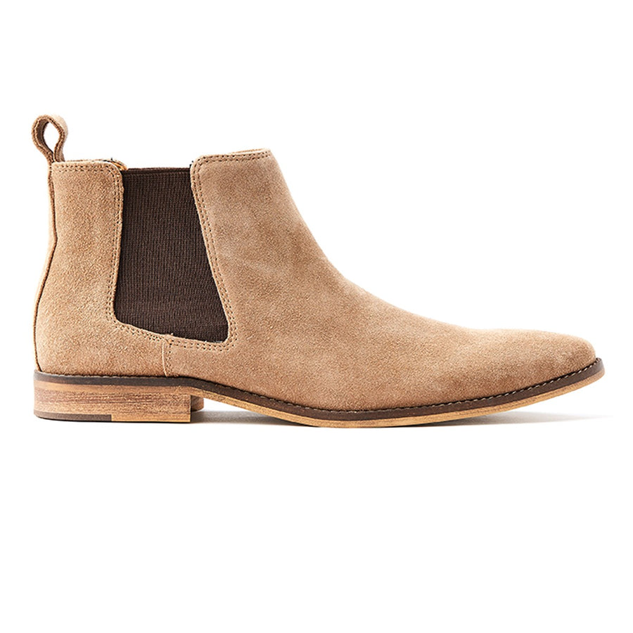 Mens suede chelsea boot