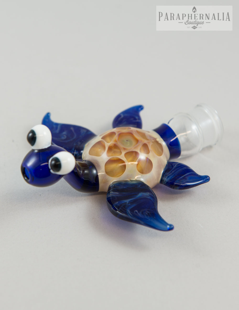 Home Blown Glass Turtle Road Runner Dry Rig - 2-Piece