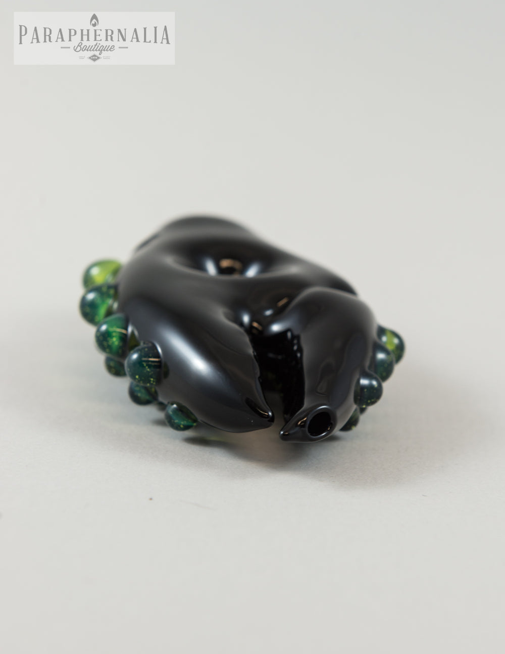 Ely Andrew Jet Black/ Slyme Crab Claw Hand Pipe