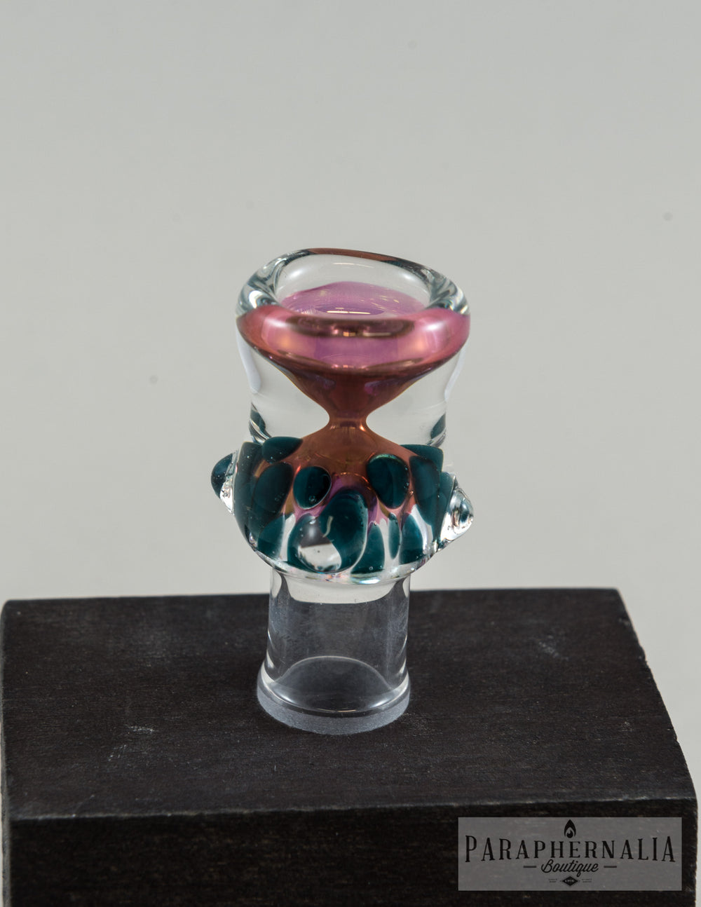 14mm Gold or Silver Fume Flower Bowl - Medium