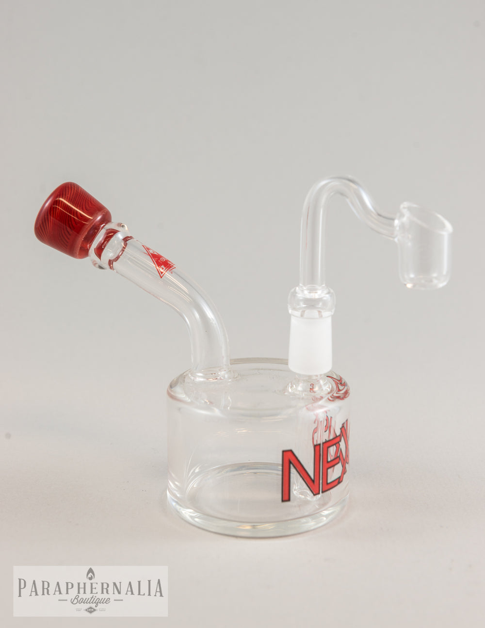 "Nexus Glass ""Crayon Red"" Small Puck Rigs"