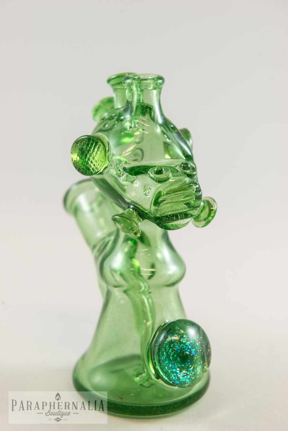 HicDogg Anunnaki Alien Astronaut Space Jammer Heady Rigs OTG Green - Headies