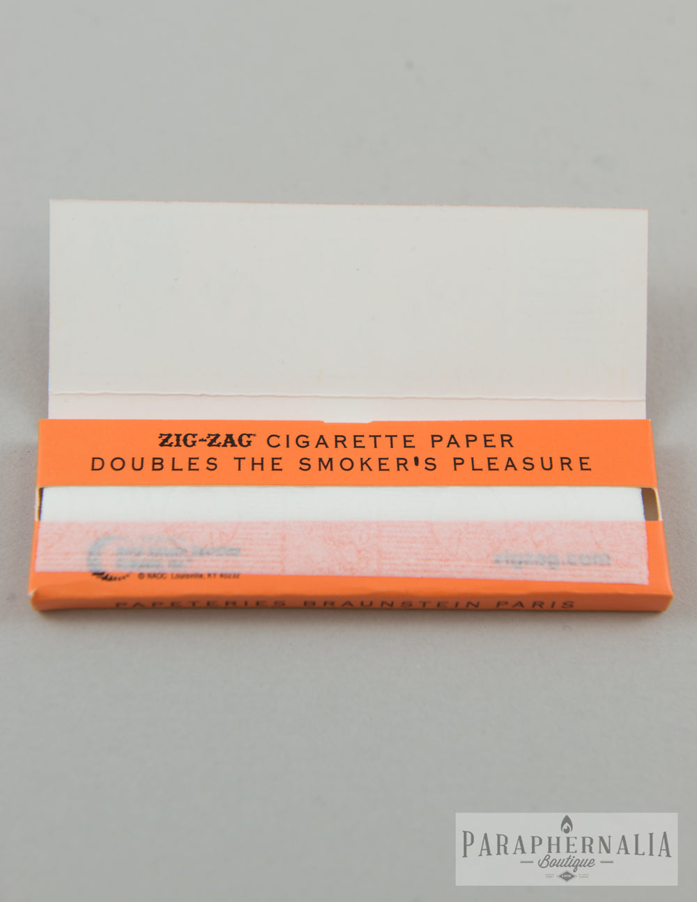 "Zig Zag 1 1/4 ""Classic Orange"" Rolling Papers - 32 Per Pack"